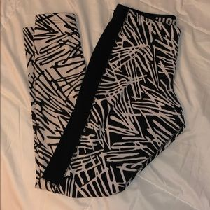 full length Nike workout leggings